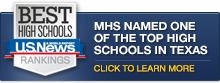 MHS Named One of the Top High Schools in Texas