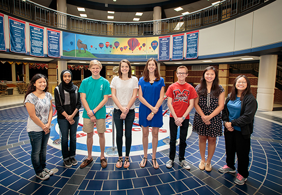 MBHS 2017 National Merit Semifinalists