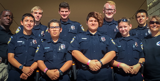 MHS Law Enforcement Explorers