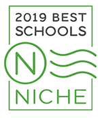 2019 Best Schools Niche Badge