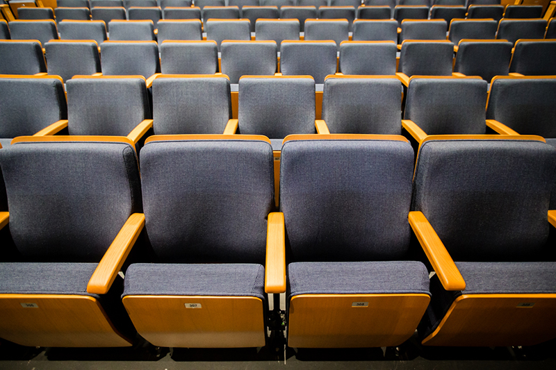 photo of rows of seats