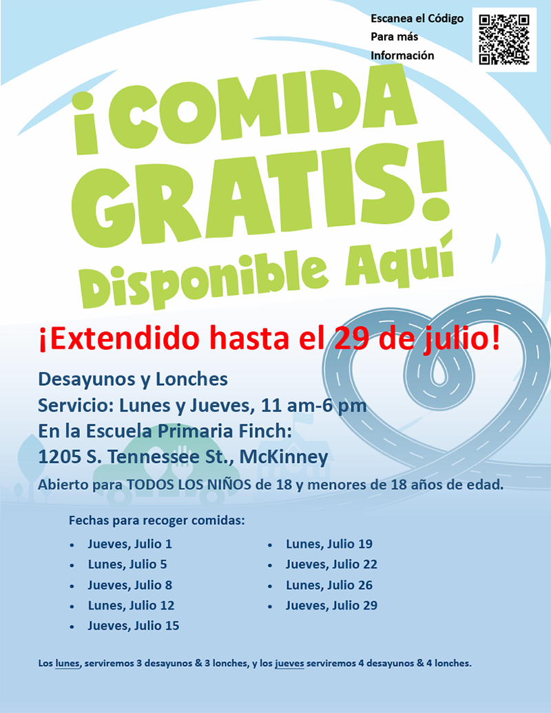 flyer in Spanish repeating information in article